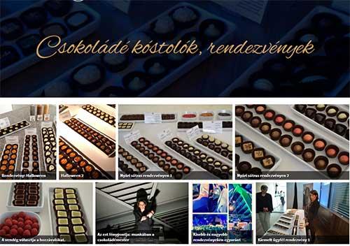 Csokoládé kóstolók, rendezvények galéria