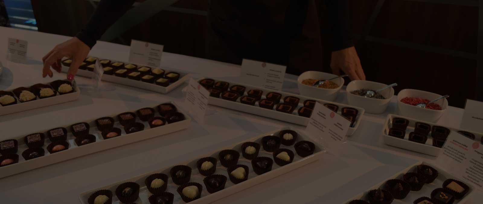 Csokoládékóstolók, rendezvények