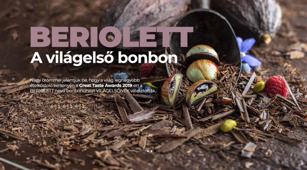 Beriolett - Világelső bonbon